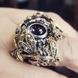 One of a kind Dragonfly ring